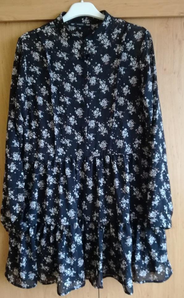 Sukienka Boho Vintage Aliexpress ala ZARA M 38