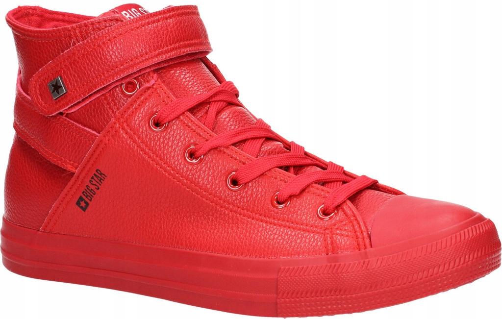 Trampki BIG STAR Y174025 Czerwony Czerwone r. 40
