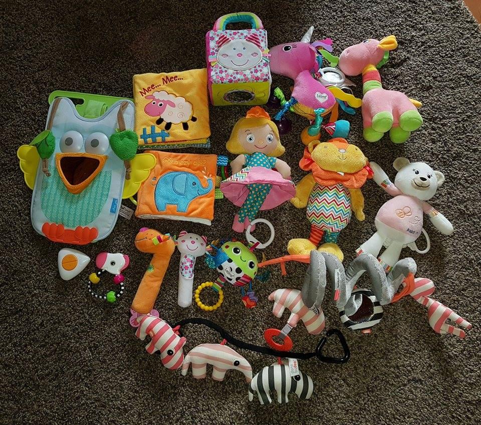 Zabawki Dla Niemowlaka Dziewczynki 0 12 M 7151623237 Oficjalne Archiwum Allegro