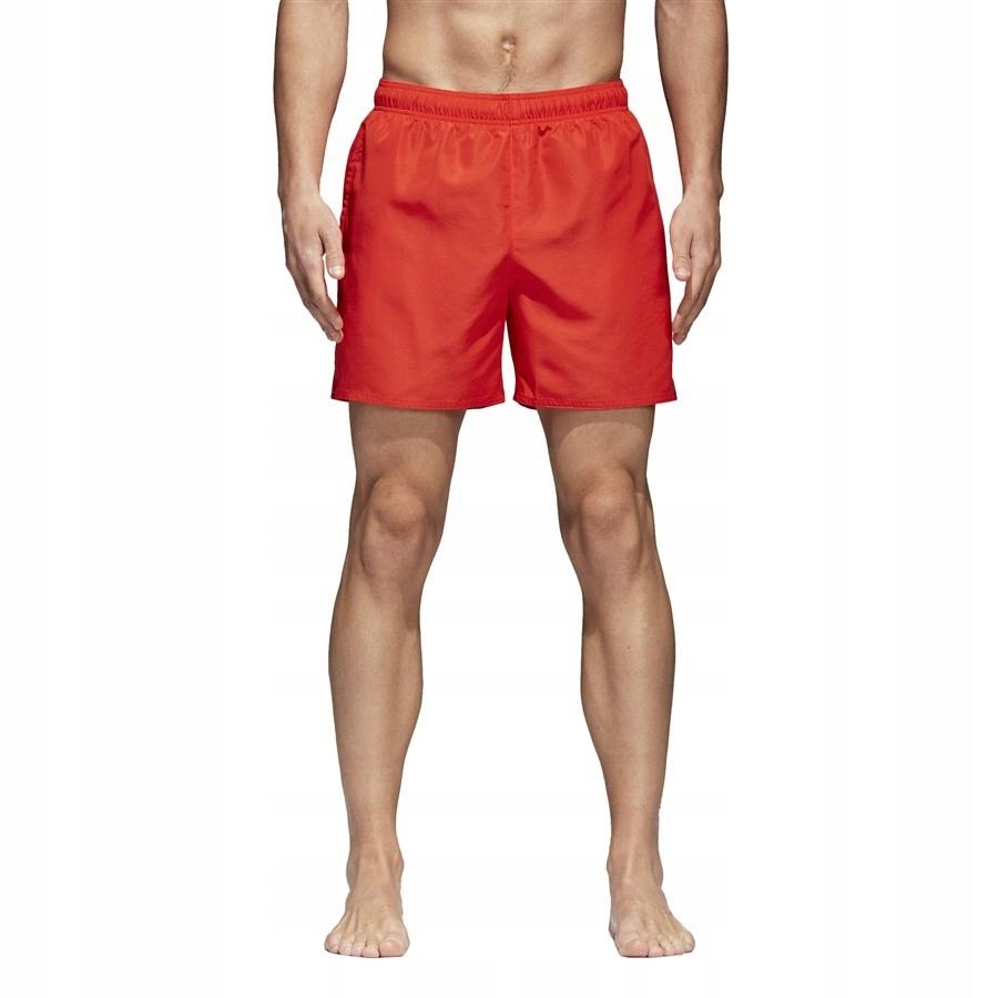 Szorty adidas Solid SH Sl CV5191 S czerwony