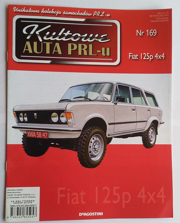 Kultowe Auta Prl Gazetka Num 169 Fiat 125p 4x4 7180562249 Oficjalne Archiwum Allegro