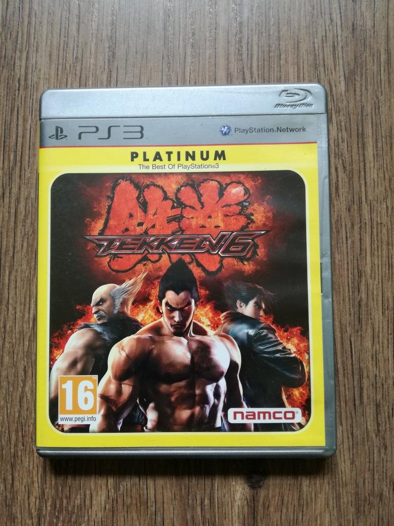 Tekken 6 Platinum Ps3 Playstation 3 Gra Bijatyka 7150297713 Oficjalne Archiwum Allegro