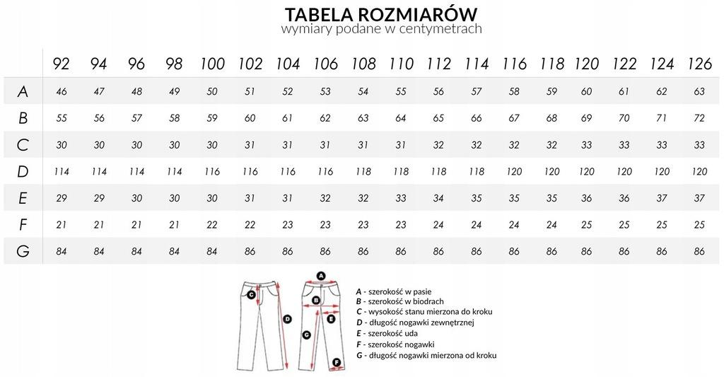 Cienkie Spodnie Męskie Bawełniane Lato 2047 120 cm
