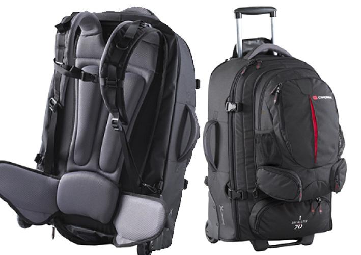 CARIBEE SKYMASTER plecak na kółkach 80L walizka