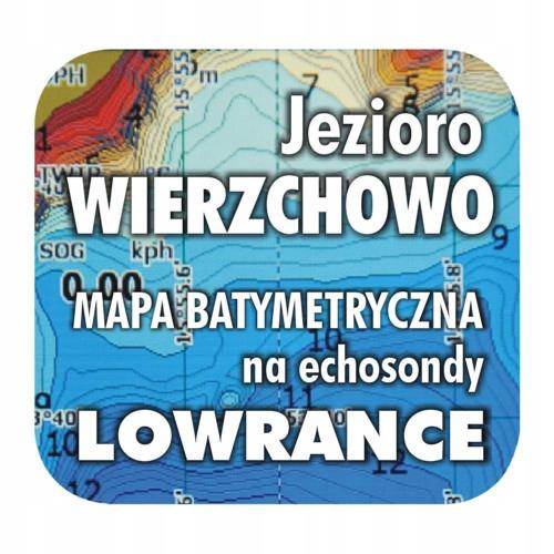 Jezioro Wierzchowo mapa na echosondy Lowrance BG