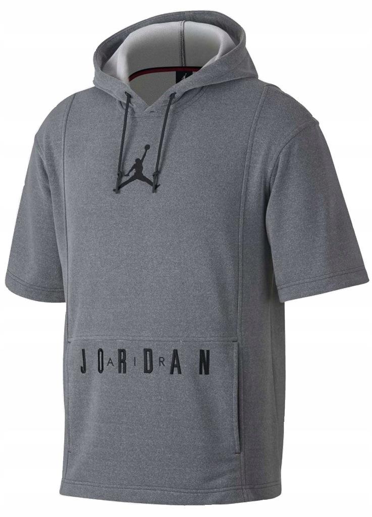 nike air jordan flight fleece hoody czarny