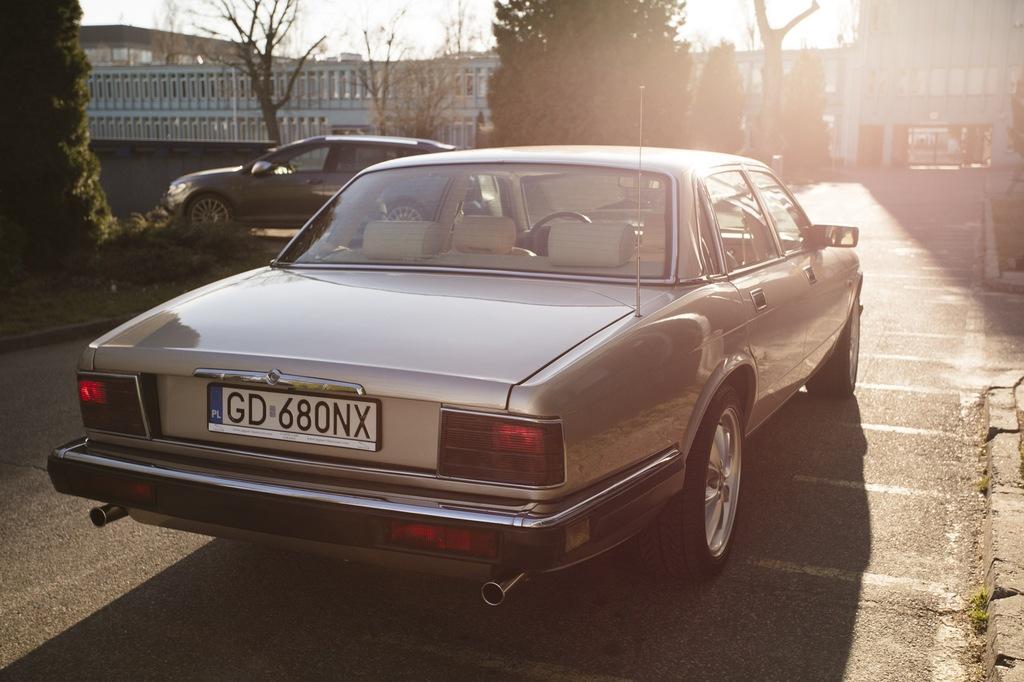 Jaguar XJ40 Sovereign XJ6 1992 rok, 3.2 benzyna ...