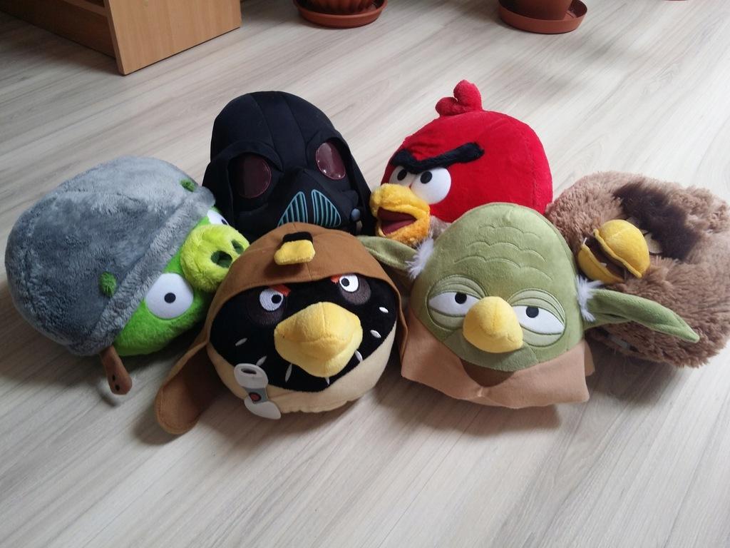 Angry Birds Star Wars Maskotki Zestaw 6 Sztuk Duze 7448690910 Oficjalne Archiwum Allegro