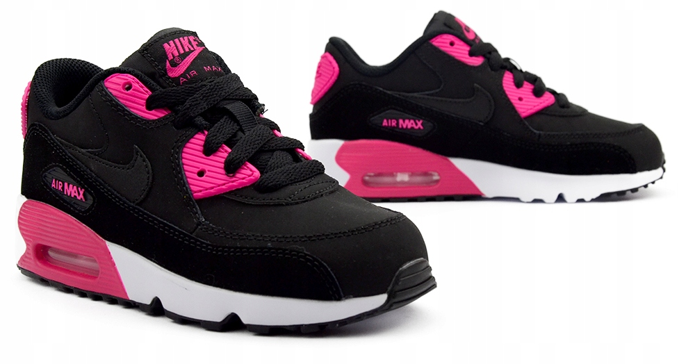 nike air max czarno różowe