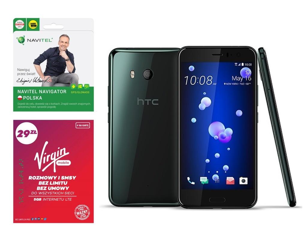 Smartfon HTC U11 4/64GB DUAL SIM LTE 16MP +59 zł