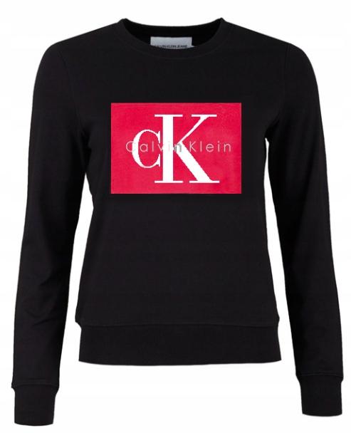 Bluza Calvin Klein Damska Logo Szara L 7645466300 Allegro Pl