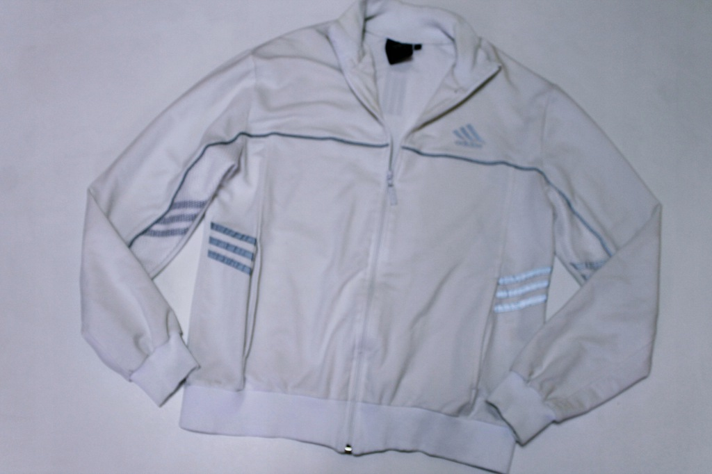 bluza adidas biała vintage
