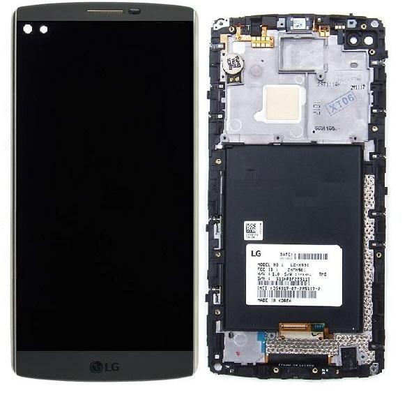 LG V10 LCD ekran digitizer RAMKA