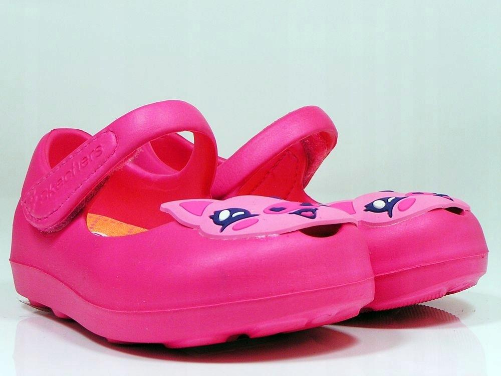 SKECHERS Różowe baleriny Dziecięce 86787N