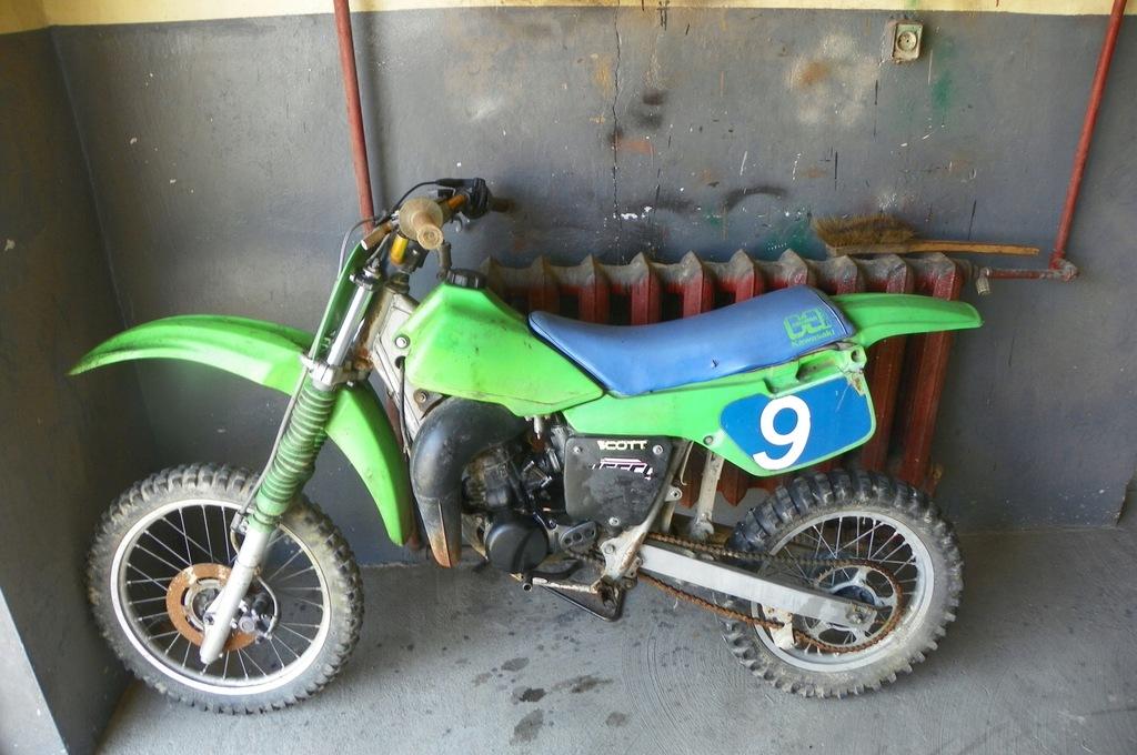 Kawasaki Kx 85 Cross Crosik Uszkodzony Stary 7542425939 Oficjalne Archiwum Allegro