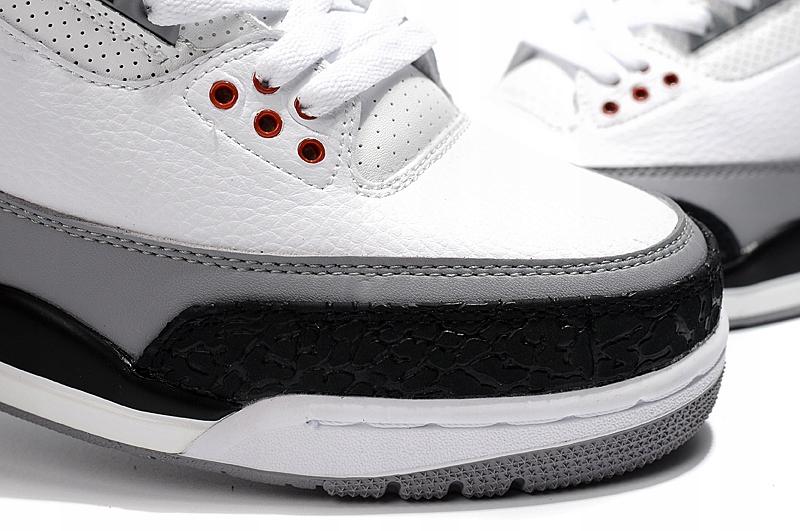 buty nike jordan aj 3 jasne białe męskie r 43