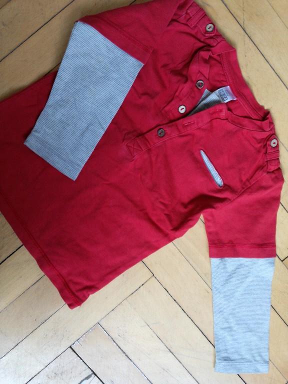 koszulka guziczki kieszonka pagony 86 Zara