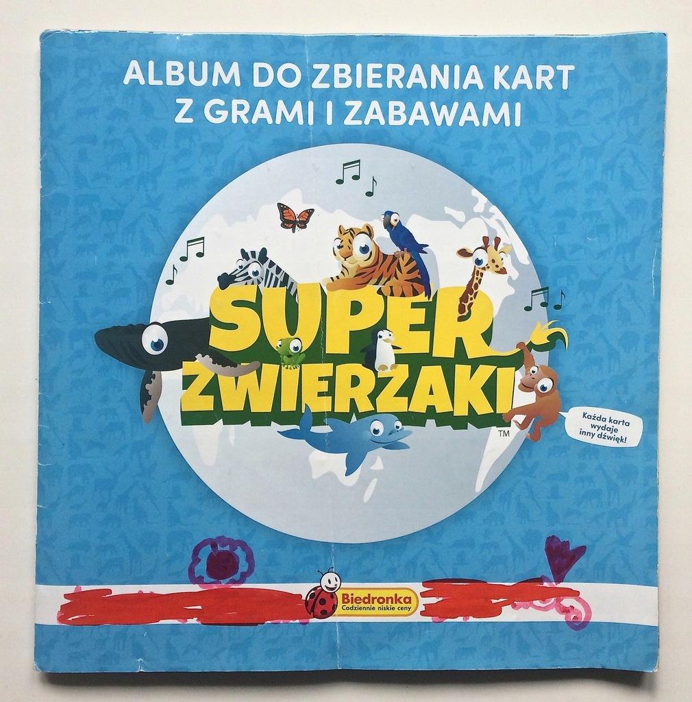 Biedronka Karty Album Super Zwierzaki 7565065753 Oficjalne Archiwum Allegro