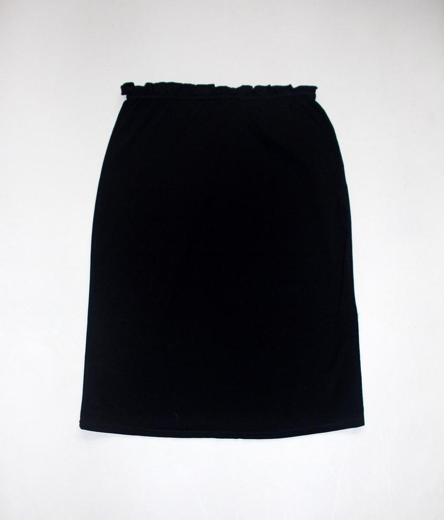 AMISU czarna SPÓDNICA spódniczka 38 M