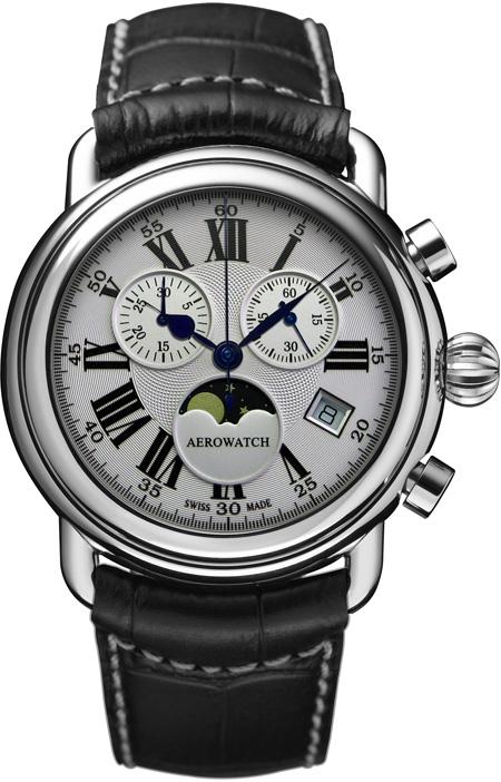 Aerowatch 1942 Chrono Quartz 84934 AA01