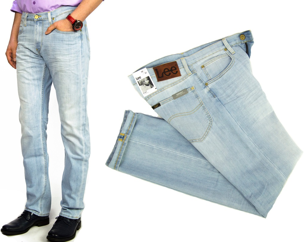 Lee Blake B. Lagoon spodnie jeansy Comfort W40 L34