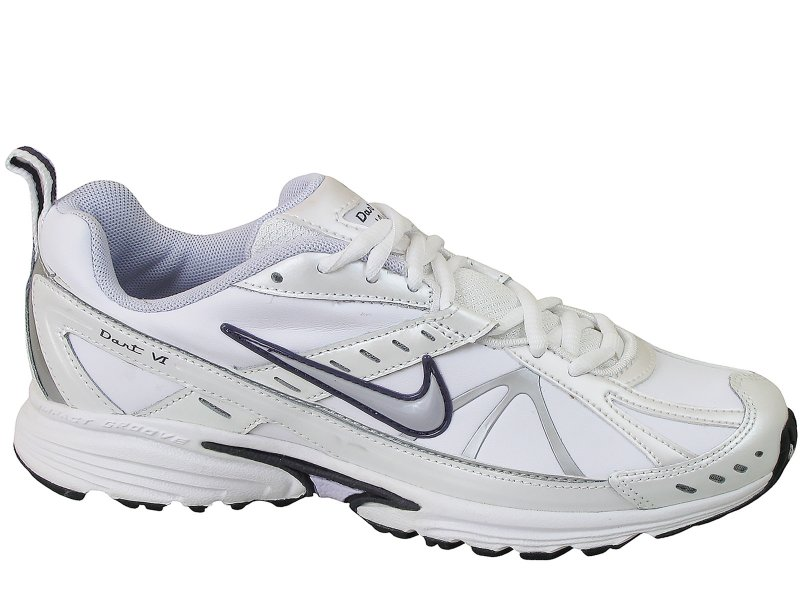 Nike buty damskie WMNS DART 10 LEATHER, białe | Sport