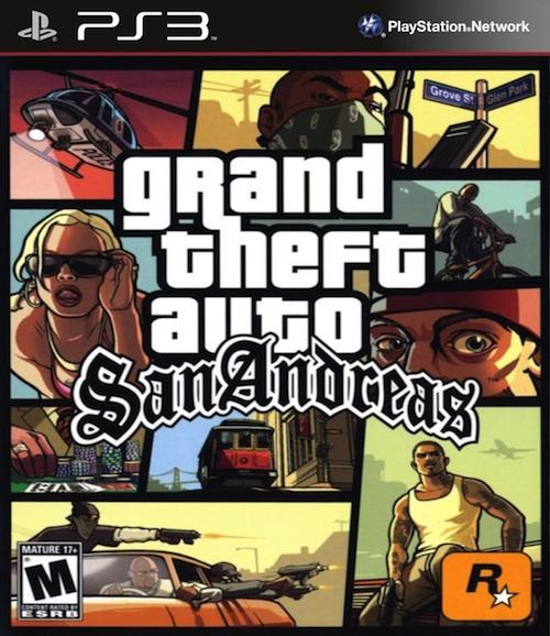 Gta San Andreas Grand Theft Auto S A Ps3 7401199479 Oficjalne Archiwum Allegro