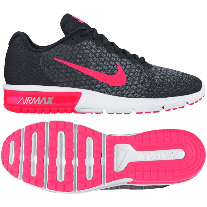 Nike Buty damskie Air Max Sequent 2 szare r. 36 (852465 005