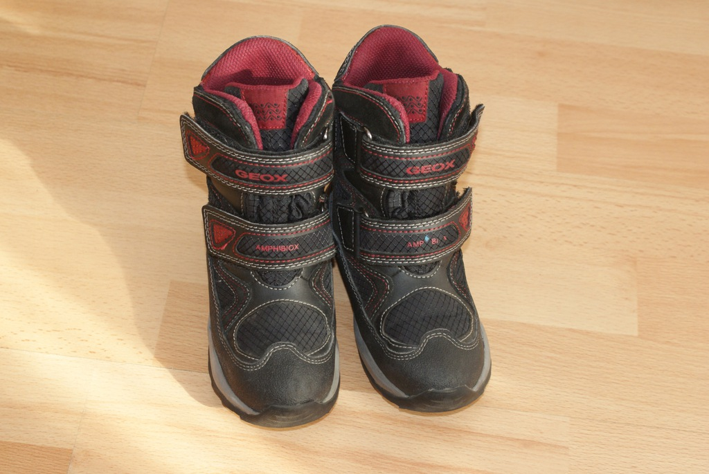 Buty zimowe śniegowce GEOX r. 26 stan BDB