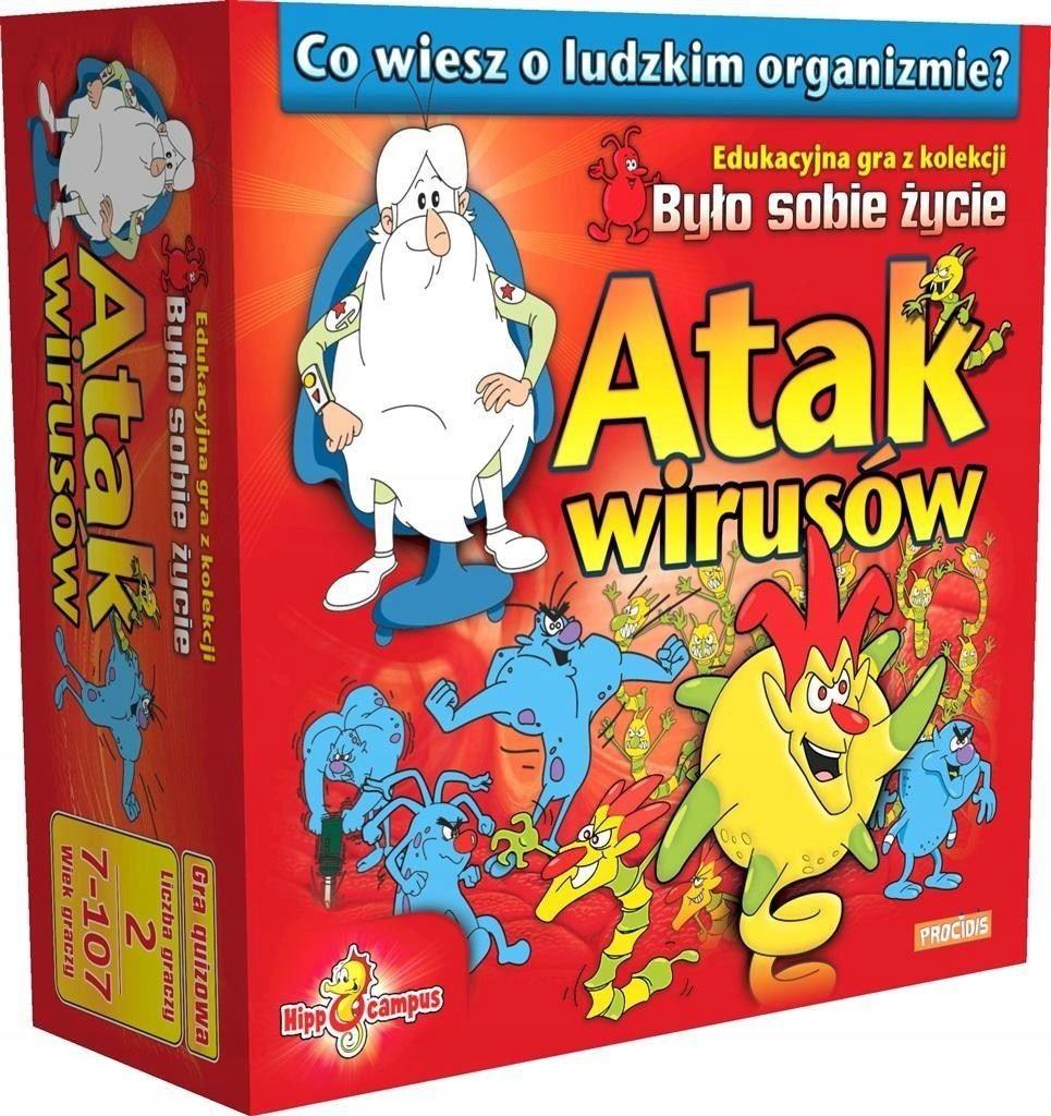 Gra Planszowa Bylo Sobie Zycie Atak Wirusow Hipp 7348994709 Oficjalne Archiwum Allegro