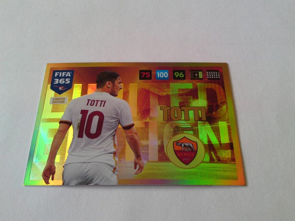 Fifa 365 2017 Karta Totti Limited Edition 6735313482 Oficjalne Archiwum Allegro