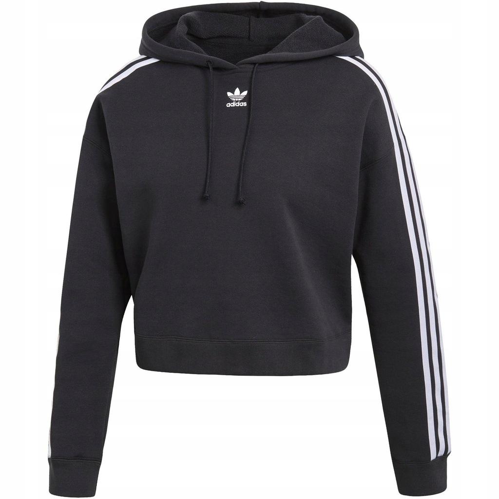 Bluza z kapturem damska Adidas Originals Trefoil Crop