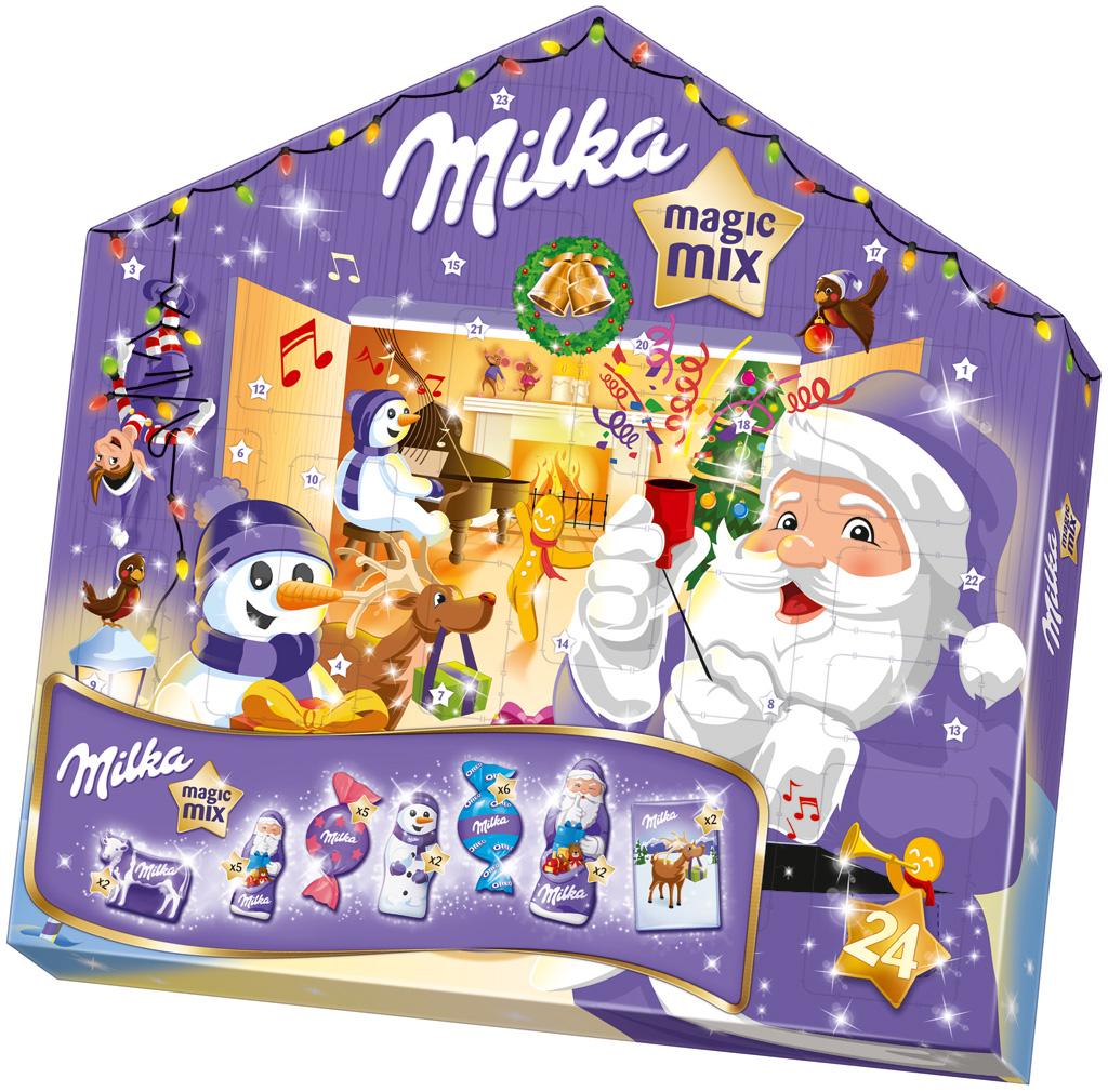 Milka Haribo Magic Kalendarz Adwentowy Niemiec 7070774522 Oficjalne Archiwum Allegro