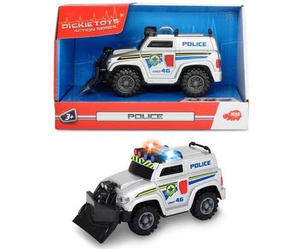 DICKIE Mały Pojazd Ratunkowy Policja