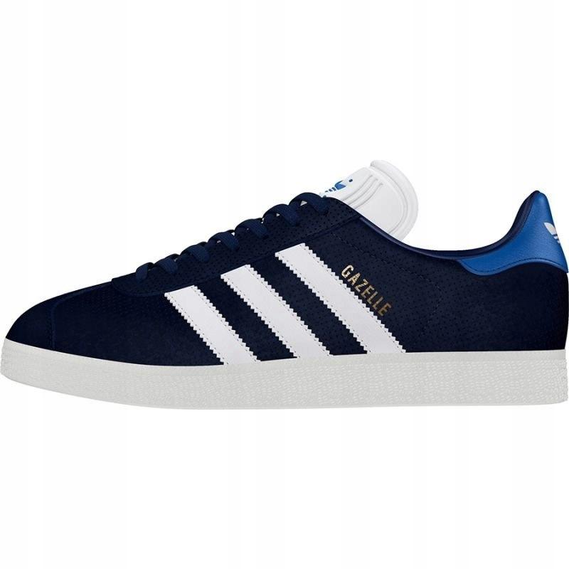 Granatowe Zamszowe Buty Sportowe Adidas rozmiar 40 23