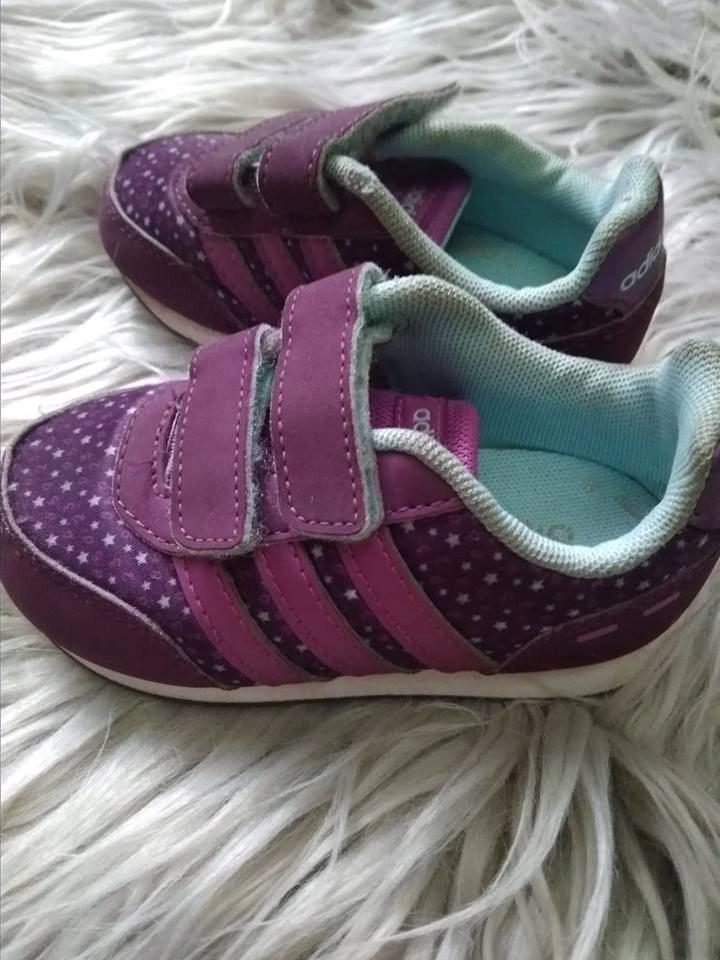 Adidas neo label buty dziecięce VL Neo Switch I fioletowy