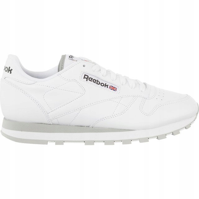 Białe Skórzane Buty Męskie Sportowe Reebok r.44,5