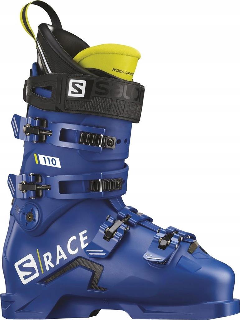Buty narciarskie Salomon S Max Race 130 Niebieski