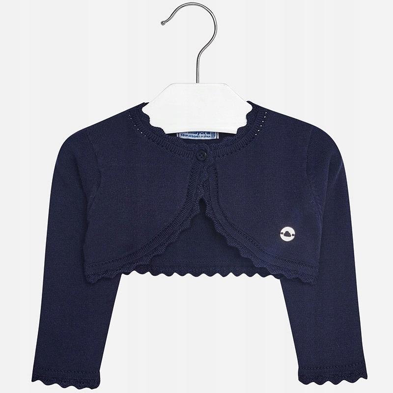 Sweterek rozpinany Mayoral rozm. 98 Granatowy