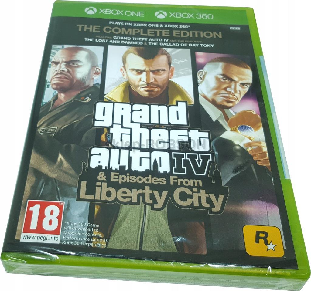 Gta Iv Complete Edition Liberty City Xbox One Nowy 6896921068 Oficjalne Archiwum Allegro