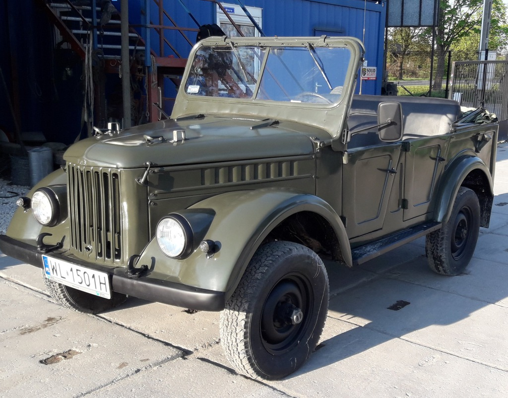 GAZ 69 Komandorka po renowacji