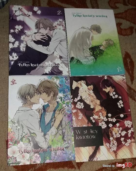 Tylko Kwiaty Wiedza W Stolicy Kwiatow Manga Yaoi 7684869242 Oficjalne Archiwum Allegro