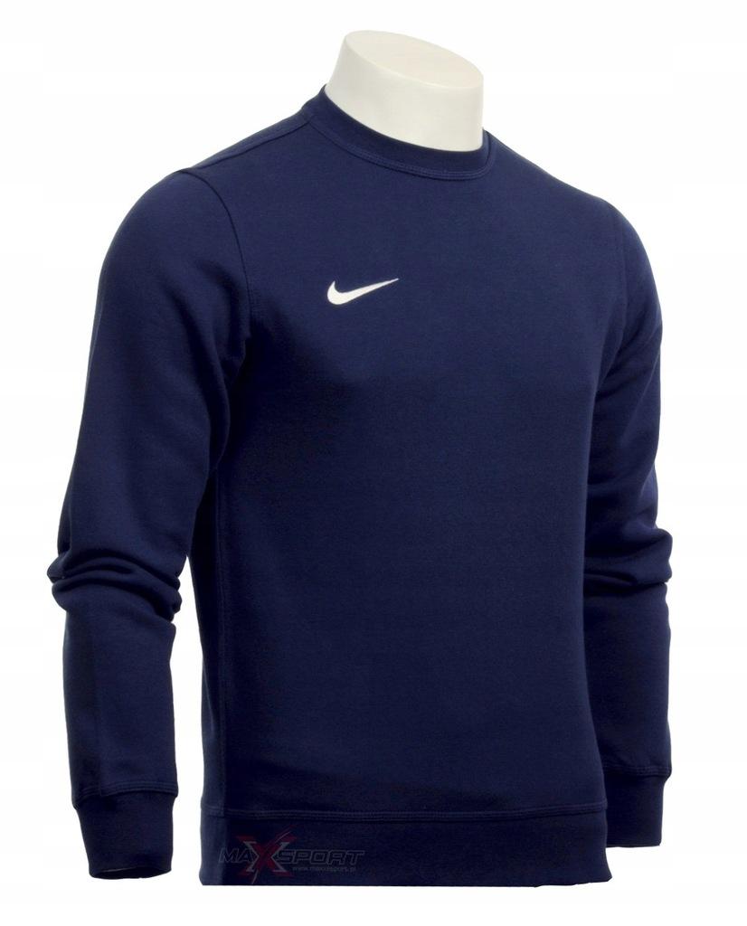 Nike bluza męska klasyczna bawełna granat L 0994