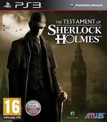 Testament Sherlocka Holmesa Gra Ps3 7332830776 Oficjalne Archiwum Allegro