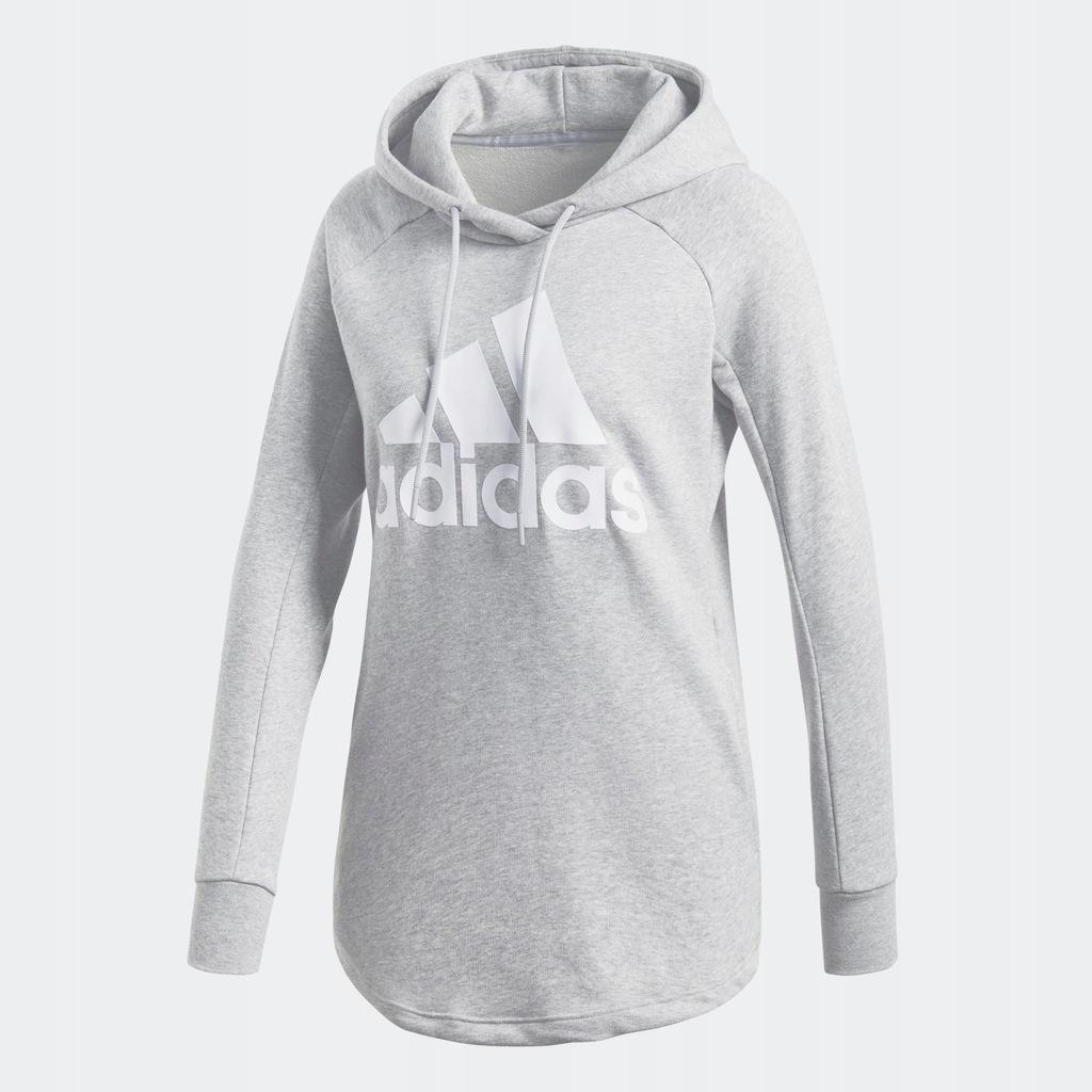 adidas bluza z kapturem sport id szary