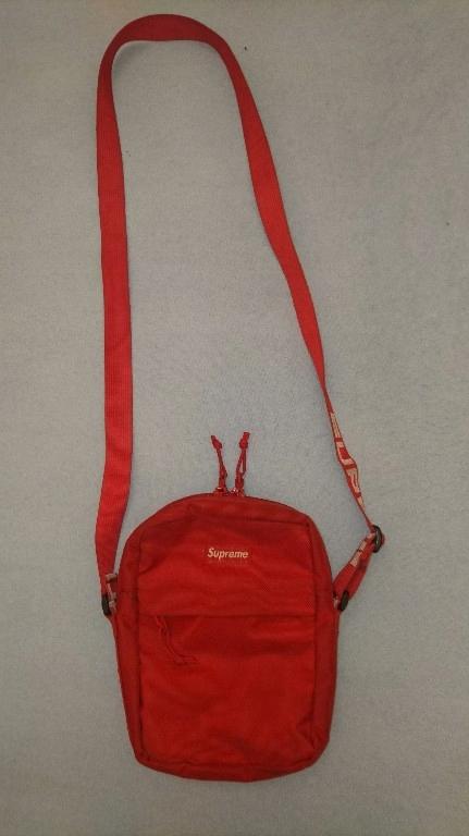 Shoulder Bag Supreme Ss18 Czerwony Warszawa 7731518122 Oficjalne Archiwum Allegro