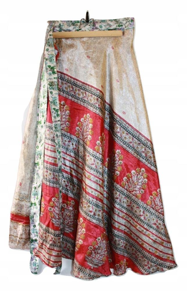 Spódnica indyjska zakładana dwustronna uniwersalna