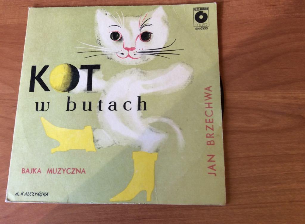 Kot W Butach Jan Brzechwa Winyl 7197464866 Oficjalne