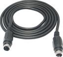 Kabel wtyk SVHS 4p / wtyk S-VIDEO 4pin 7,5m (0433)