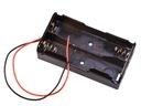 Koszyk na baterie 2x 18650   akumulator LI-ION